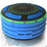 Hydro-Beat Illumination Waterproof Bluetooth Radio Speaker