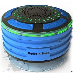 Hydro-Beat Illumination Waterproof Bluetooth Radio Speaker