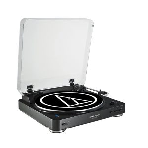 Audio Technica AT-LP60BK-BT Modern Bluetooth Record Player