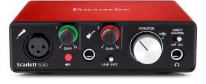 Focusrite Scarlett Solo Hero USB Audio Interface
