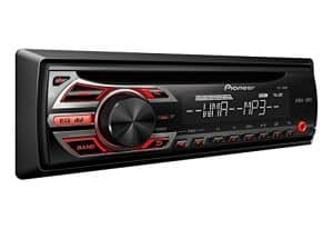 Pioneer DEH-150MP In-Dash Single-DIN CD/CD-R/CD-RW, MP3/WAV/WMA Car Stereo Receiver w/ 3.5mm Auxiliary Input