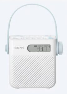 Sony ICF-S80 Splash Proof Shower Radio