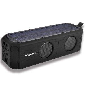 Nuboom Solar Power Bluetooth Speaker
