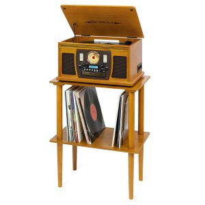 Victrola Wooden Stand for Wooden Music Centers
