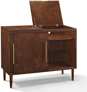 Crosley Furniture Everett Media Console - Mahogany