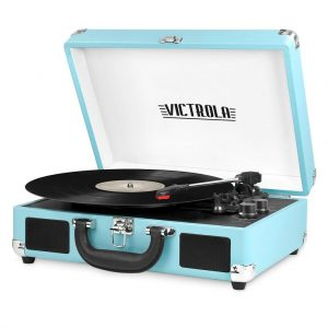 JORLAI Briefcase Vinyl Player